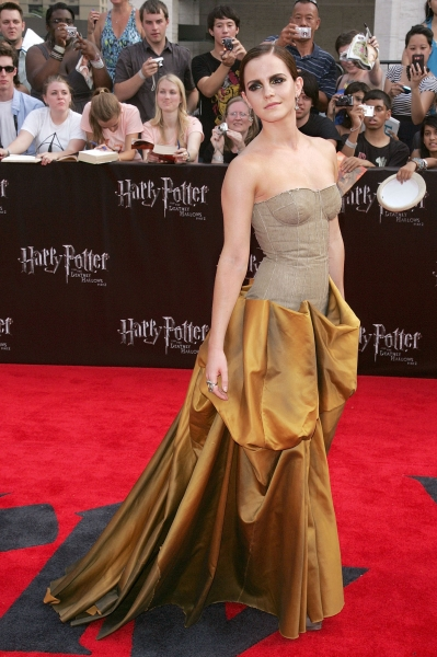 Emma Watson Wearing Bottega Veneta at the Harry Potter Premiere in New York