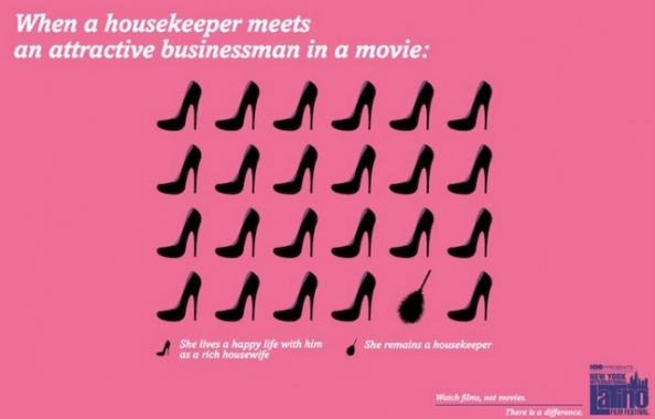 Movie Cliche Housekeeper Meets Attractive Businessman