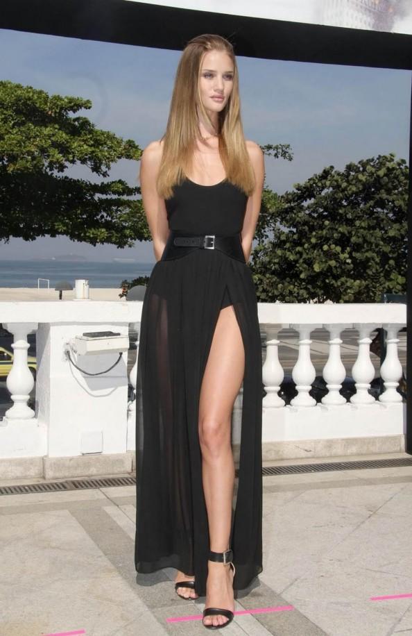 Rosie Huntington-Whiteley wearing Michael Kors in Rio