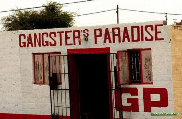 African Bars Gangster's Paradise