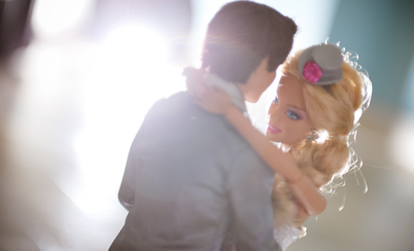 Barbie and Ken Wedding Photo Shoot Wedding Dance