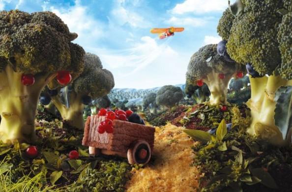 Broccoli Trees Food Landscape