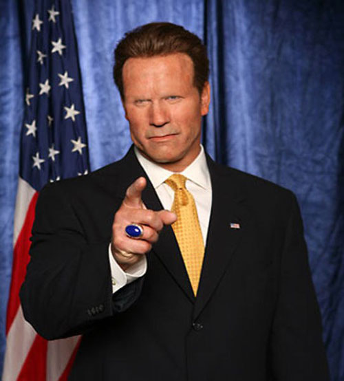Celebrities Without Eyebrows Arnold Schwarzenergger