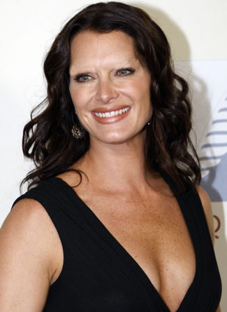 Celebrities Without Eyebrows Brooke Shields
