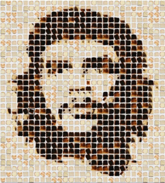 Che Guevara Toast Portrait by Henry Hargreaves