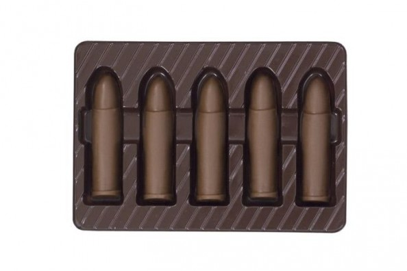 Chocolate Weapons Bullets
