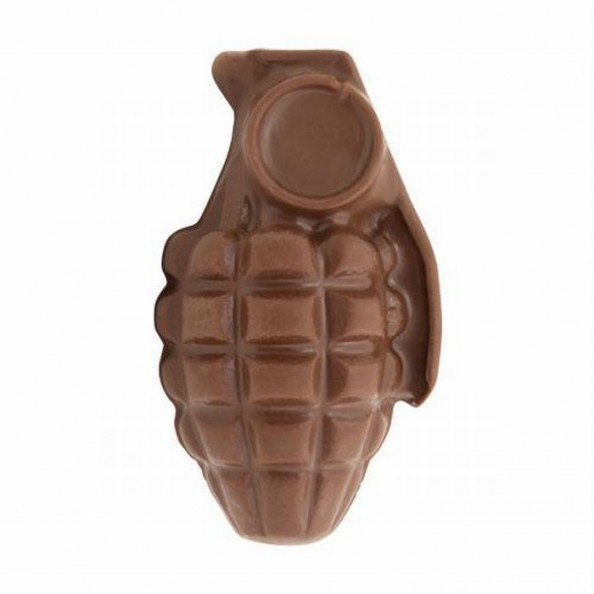 Chocolate Weapons Grenade