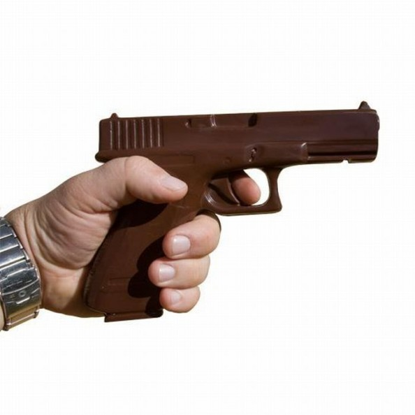 Chocolate Weapons Gun3