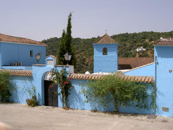 Church From Juzcar Pueblo Pitufo Spain
