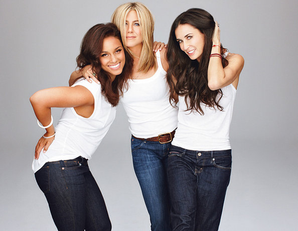 Demi Moore, Jennifer Aniston and Alicia Keys to Direct Five