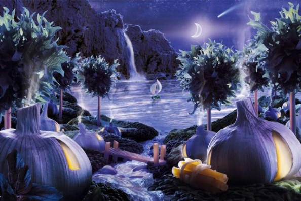 Foodscape at Night