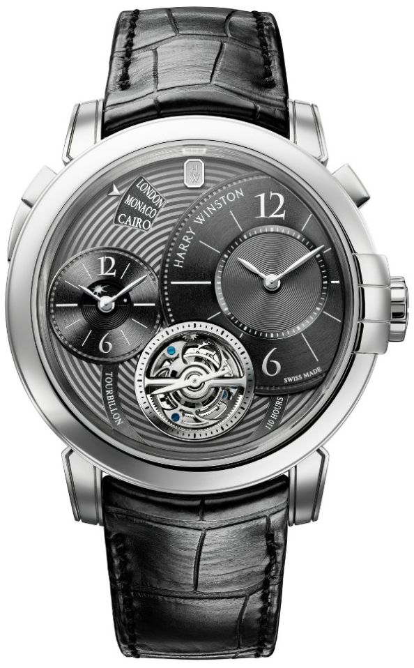 Harry Winston Midnight GMT Tourbillon Refined Only Watch 2011
