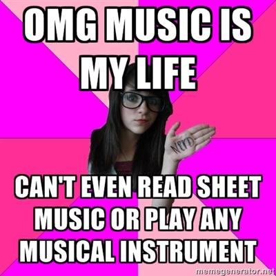 Idiot Nerdy Girl music