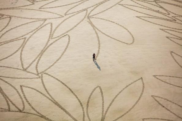Jim Denevan Sand Art 11