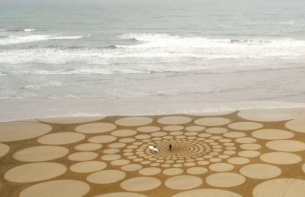 Jim Denevan Sand Art 4
