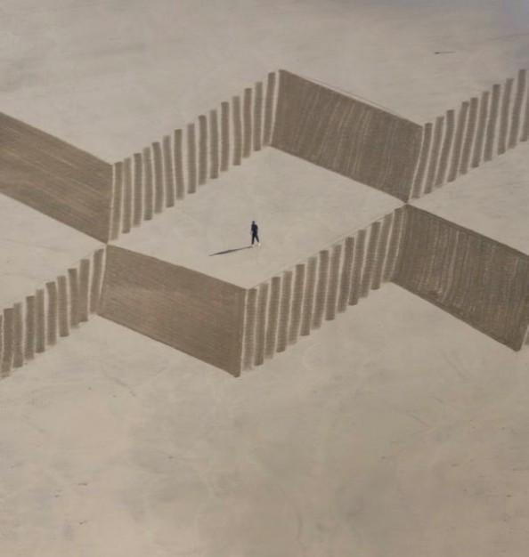 Jim Denevan Sand Art 5
