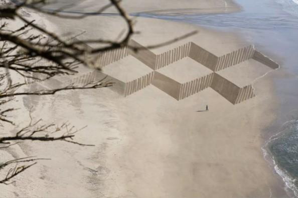 Jim Denevan Sand Art 6