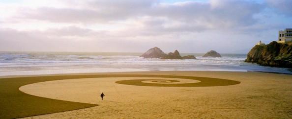 Jim Denevan Sand Art 8