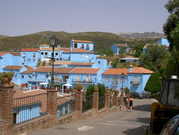 Juzcar Pueblo Pitufo Malaga