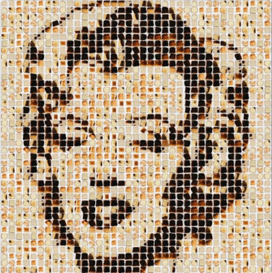 Marilyn Monroe Toast Portrait by Henry Hargreaves