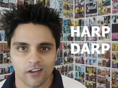 Ray William Johnson Harp Darp