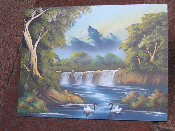 Spray Painting Nature