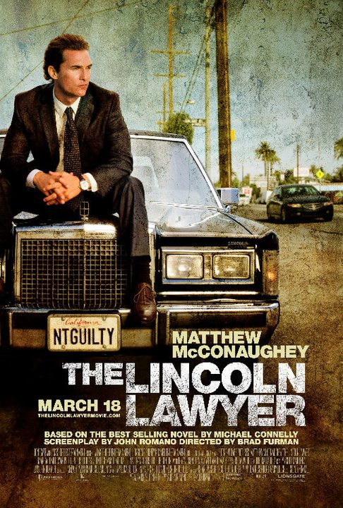 The Lincoln Lawyer books turned movies 2011