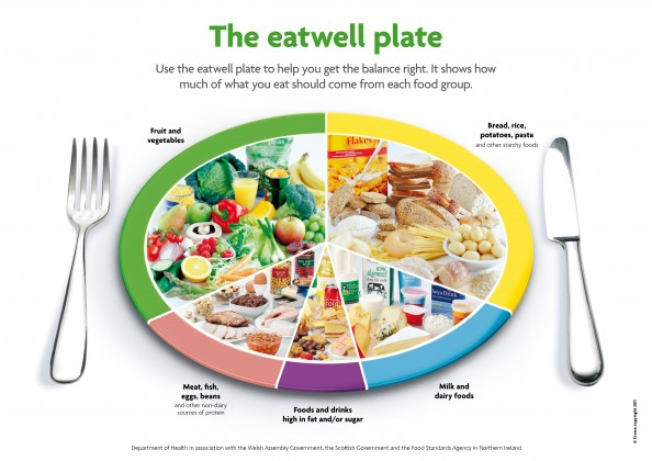 The eatwell plate review you eating habits