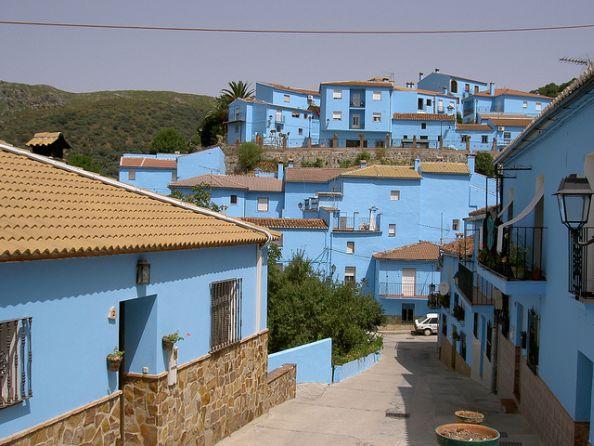 The Streets Of Juzcar Pueblo Pitufo Malaga