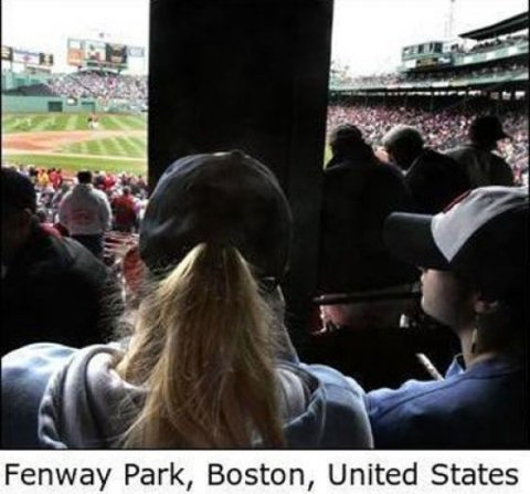 Worst Seats Stadium Boston