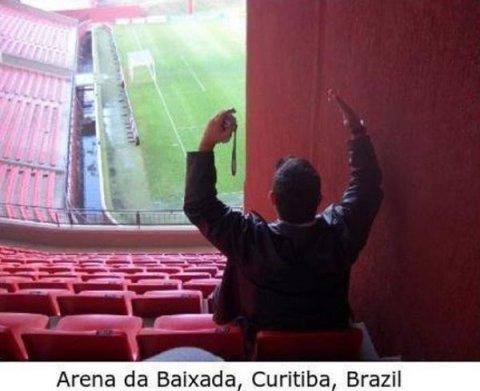 Worst Seats Stadium Brazil