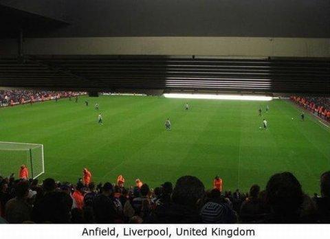 Worst Seats Stadium Liverpool England