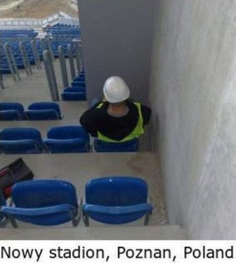 Worst Seats Stadium Poland