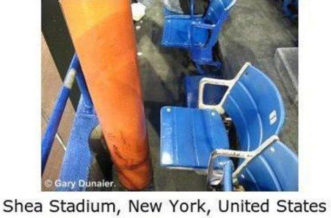 Worst Seats Stadium Shea NY