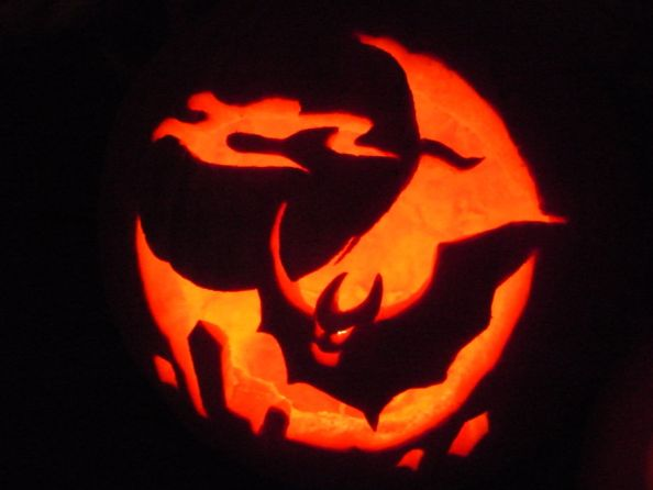Halloween Pumpkin by unfoundfemale990