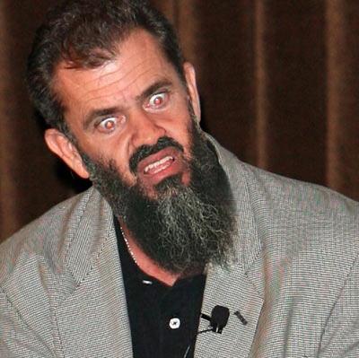 Osama Beard Frenzy Mel Gibson