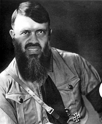 Osama Beard Frenzy Hitler
