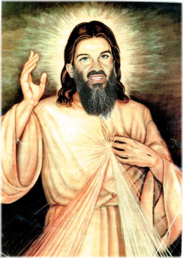 Osama Beard Frenzy Jesus
