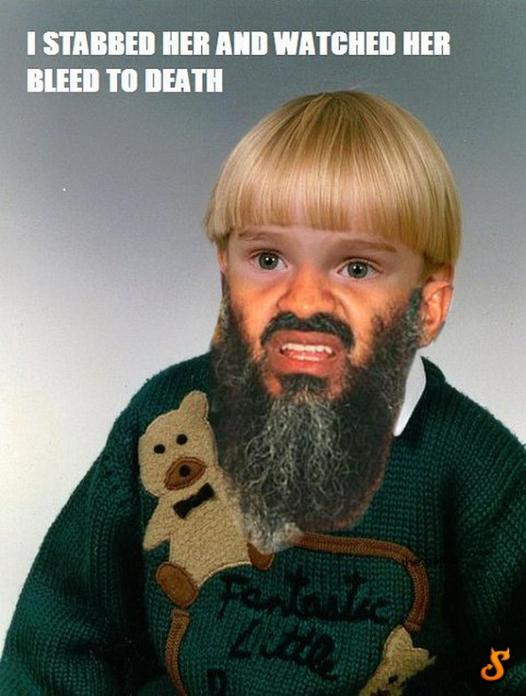 Osama Beard Frenzy Kid
