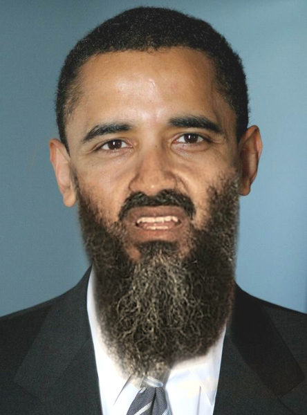 Osama Beard Frenzy Obama