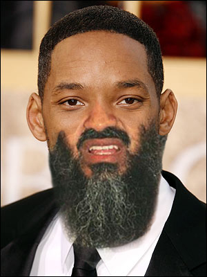 Osama Beard Frenzy Will Smith