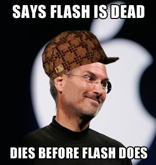 Steve Jobs Worst Death Jokes flash