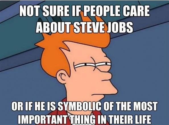 Steve Jobs Jokes Fry