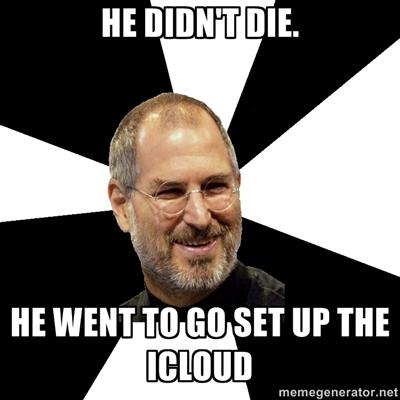Steve Jobs Jokes iCloud