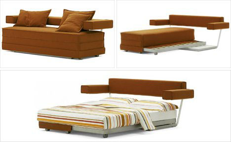 Transforming Furniture- Sofa into Bed