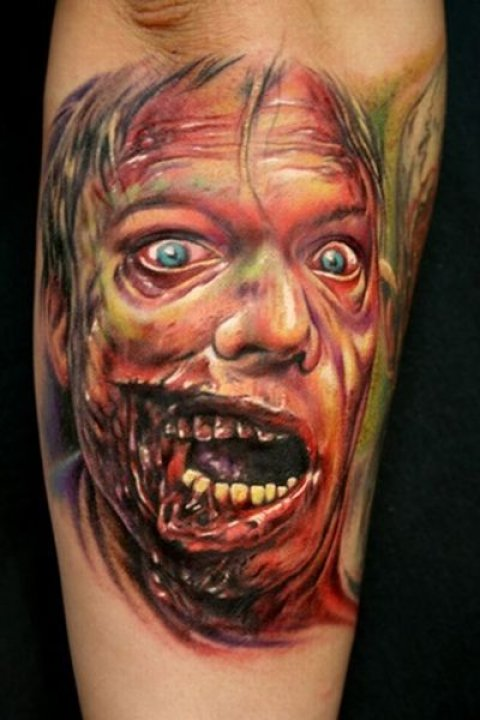 Zombies Monsters Tattoos Halloween19