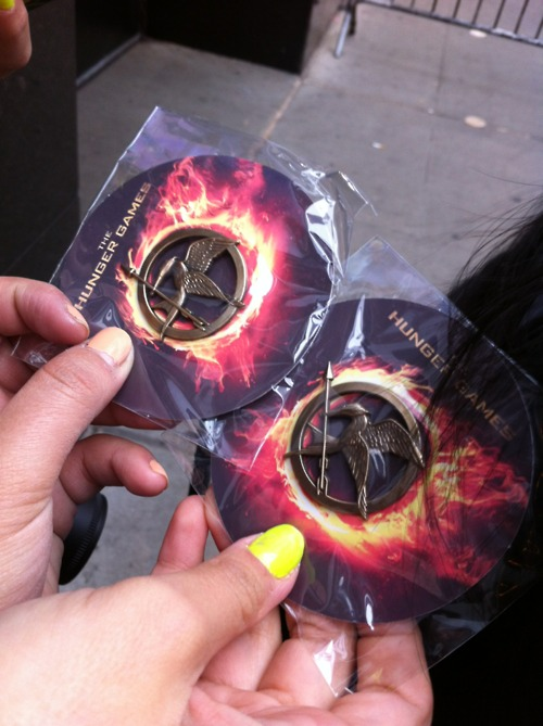 Advertising The Hunger Games Movie NYC