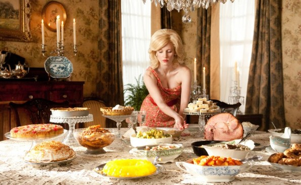 Celia Foote (Jessica Chastain) in The Help movie 2011