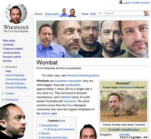Jimmy Wales Everywhere