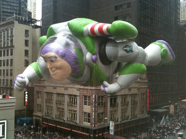 Macy's Thanksgiving Day Parade Buzz Lightyear Balloon